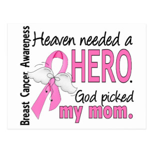 heaven_needed_a_hero_mom_breast_cancer_postcard-r45fb9fa0e5e44ecf827e8372c52a35a7_vgbaq_8byvr_307
