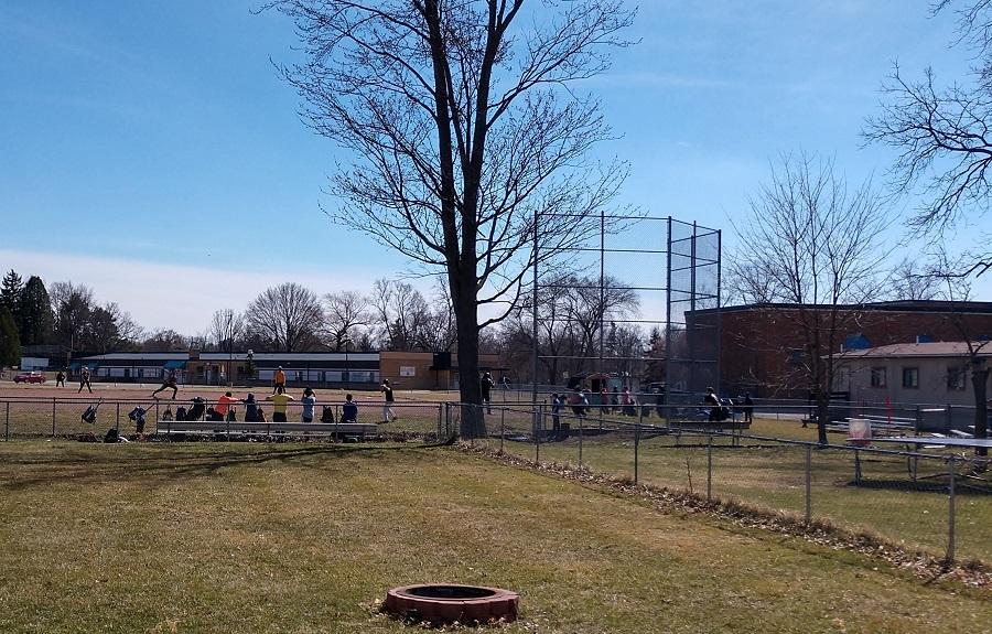 Baseball - backyard