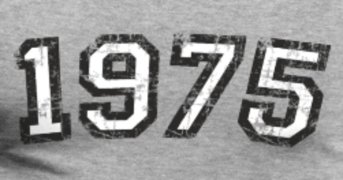 year-1975-birthday-design-vintage-white-mens-premium-t-shirt