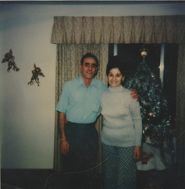 Grandma and Grandpa Xmas 79