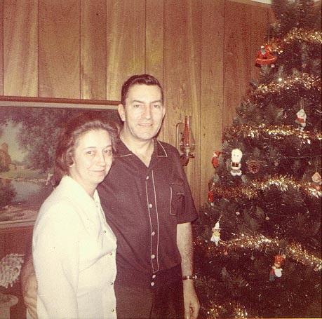 Grandpa and Grandma Davidson Christmas 1970 (2)