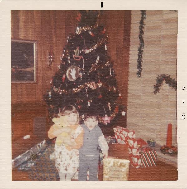 Jodi and Keith Christmas 1972